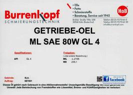 H.o.B-Getriebe-Oel ML SAE 80 GL 4