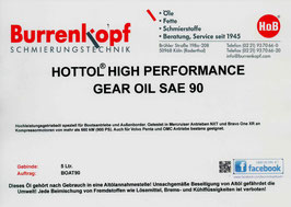 H.o.B-Hottol High Performance Gear Oil SAE 90