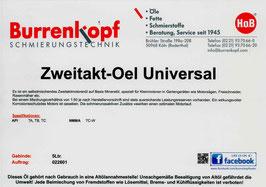 H.o.B-Zweitakt-Oel Universal