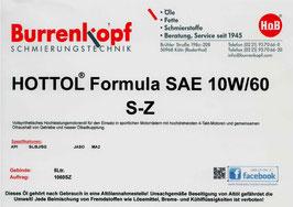 H.o.B-HOTTOL Formula SAE 10W/60 S-Z
