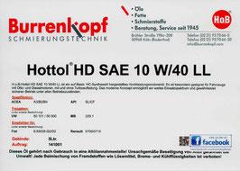 H.o.B-Hottol HD SAE 10W/40 LL