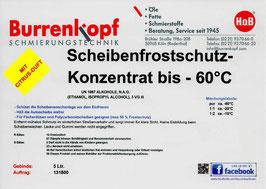 H.o.B-Scheibenfrostschutz Konzentrat bis -60°C