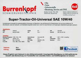 H.o.B-Super-Tractor-Oil Universal SAE 10W/40