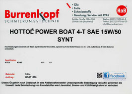 H.o.B-Hottol Power Boat 4-T SAE 15W/50 SYNT