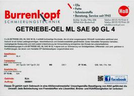 H.o.B-Getriebe-Oel ML SAE 90 GL 4