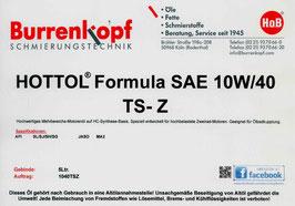 H.o.B-HOTTOL Formula SAE 10W/40 TS-Z