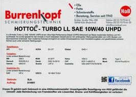 H.o.B-Hottol Turbo LL SAE 10W/40 UHPD