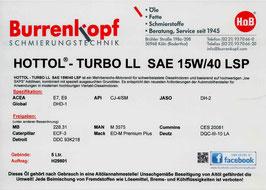 H.o.B-Hottol Turbo LL SAE 15W/40 LSP