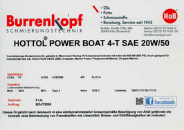 H.o.B-Hottol Power Boat 4-T SAE 20W/50