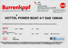 H.o.B-Hottol Power Boat 4-T SAE 15W/40