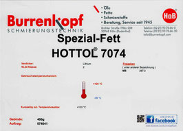 H.o.B-Spezial-Fett Hottol 7074