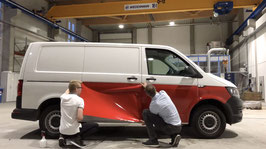 Folienset untere Fahrzeughälfte