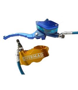 4-Kolben Radial Racing Bremse Pitbike - Komplettkit
