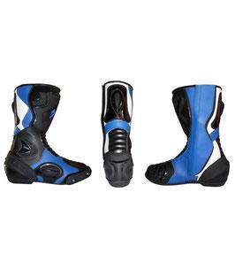 Race Stiefel Malcor Blau