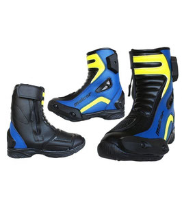 Pocketbike Schuhe Malcor Blau