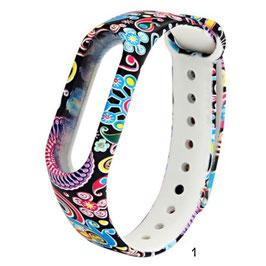 Silikon-Armband - versch. Muster