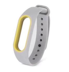 Silikon-Armband mit Farbakzent - versch. Farben