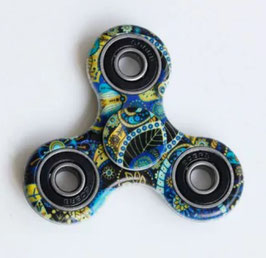Wheel Spinner BLUE PATTERN