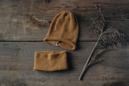 winter - beanie&loop set