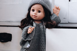 dolls set - dress, jacket, hat