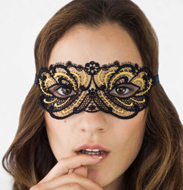 Lucky Cheeks Maske - Queen of Love - Black Edition