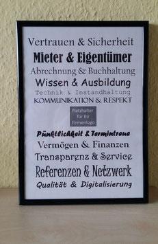 A4 PLAKAT - Mieter & Eigentümer