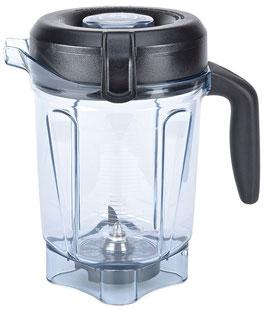 2 Liter Vitamix Low Profile Mixbehälter aus Tritan mit Naßschneidemesser und Deckel