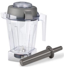 1,4 Liter Vitamix Mixbehälter aus Tritan mit Naßschneidemesser, Deckel und Stopfer