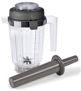 0,9 Liter Vitamix Mixbehälter aus Tritan mit Naßschneidemesser, Deckel und Stopfer