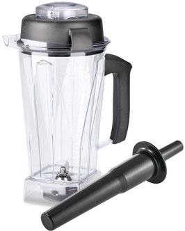 2 Liter Vitamix Mixbehälter aus Tritan mit Naßschneidemesser, Deckel und Stopfer