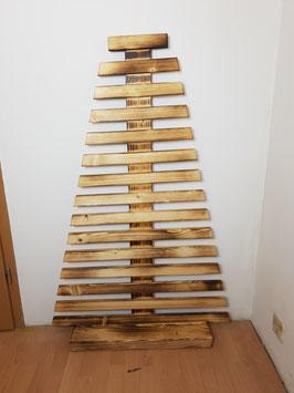 Holz Weihnachtsbaum Holzbaum Deko Objekt *handgemacht* geflammt oder natur weihnachtsdeko holz in deiner Wunschfarbe