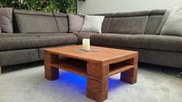 "Palettenmöbel Couchtisch LED – Beleuchtung ""Carpi"""