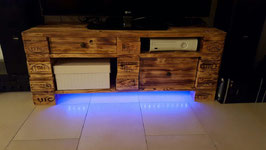 "Sideboard Palettenmöbel LED Beleuchtung Europaletten Stil ""Imola"""