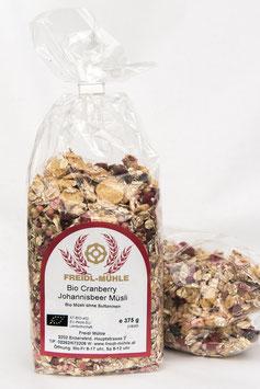 Cranberry Johannisbeer Müsli