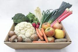 regionales, saisonales Obst & Gemüsekistl