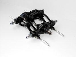 Tamiya 3-Achser Antriebs - Hinterachsen / Pendelei