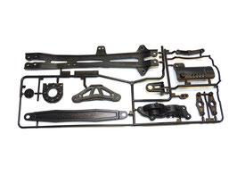 Tamiya TT-01E Teile / Rahmen D
