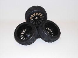 Specter 2 Buggy Räder schwarz
