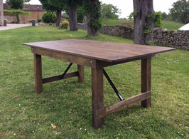Table rustique 8 pers.