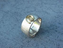 Ring Schnecke breit
