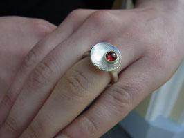 Ring Granat (aus Schmuckset/Schale)