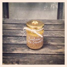 Vegan: Karamellisiertes Nussmus (verschiedene Sorten) – Gebrannte Nüsse mit Meersalz-Karamell (220g)