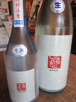 土佐しらきく純米吟醸 微発泡酒 生酒