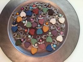 Lava Perlen Schutzengel - 3er Set