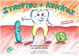 Streptos und Kokkos - Lernbilderbuch
