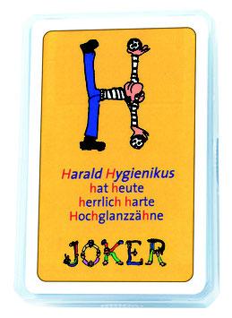 Zahngesundheits-Kartenspiel