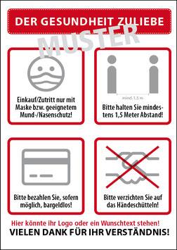 Plakate DIN A1 -Ideal für den Aufsteller!