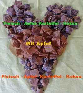 Fleisch-Apfel-Kartoffel-Kekse -  250 g - Die Favoriten!
