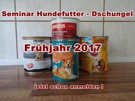Seminar Hundefutter - Dschungel - Frühjahr / Sommer 2018!