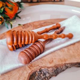 Honiglöffel/Honigheber handgedrechselt, Akazie
